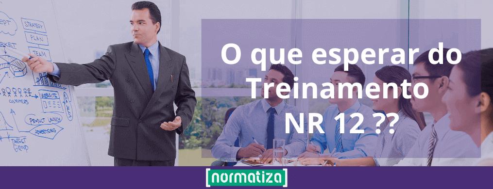 Treinamento de NR 12 – O que esperar?
